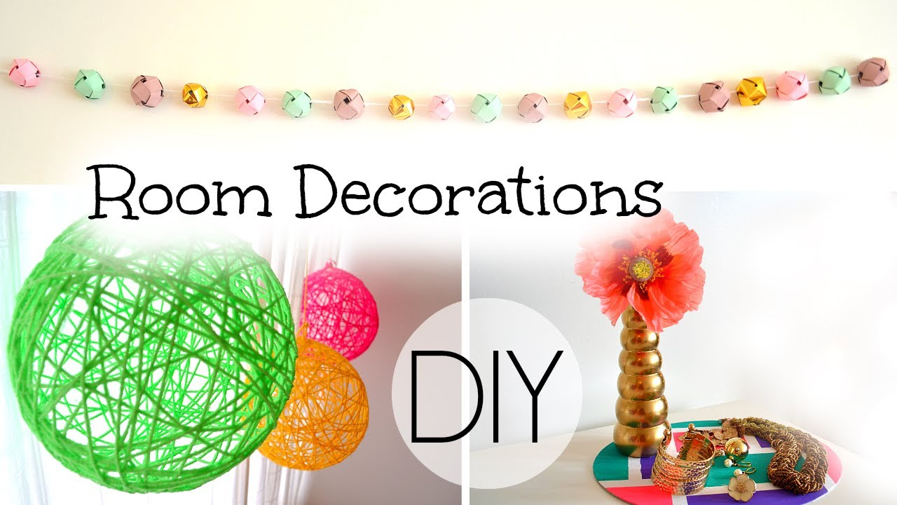 DIY SpringSummer Room Decorations YouTube