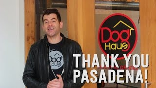 Thank You Pasadena | Dog Haus