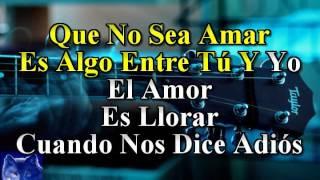 karaoke El Amor José Luis Perales