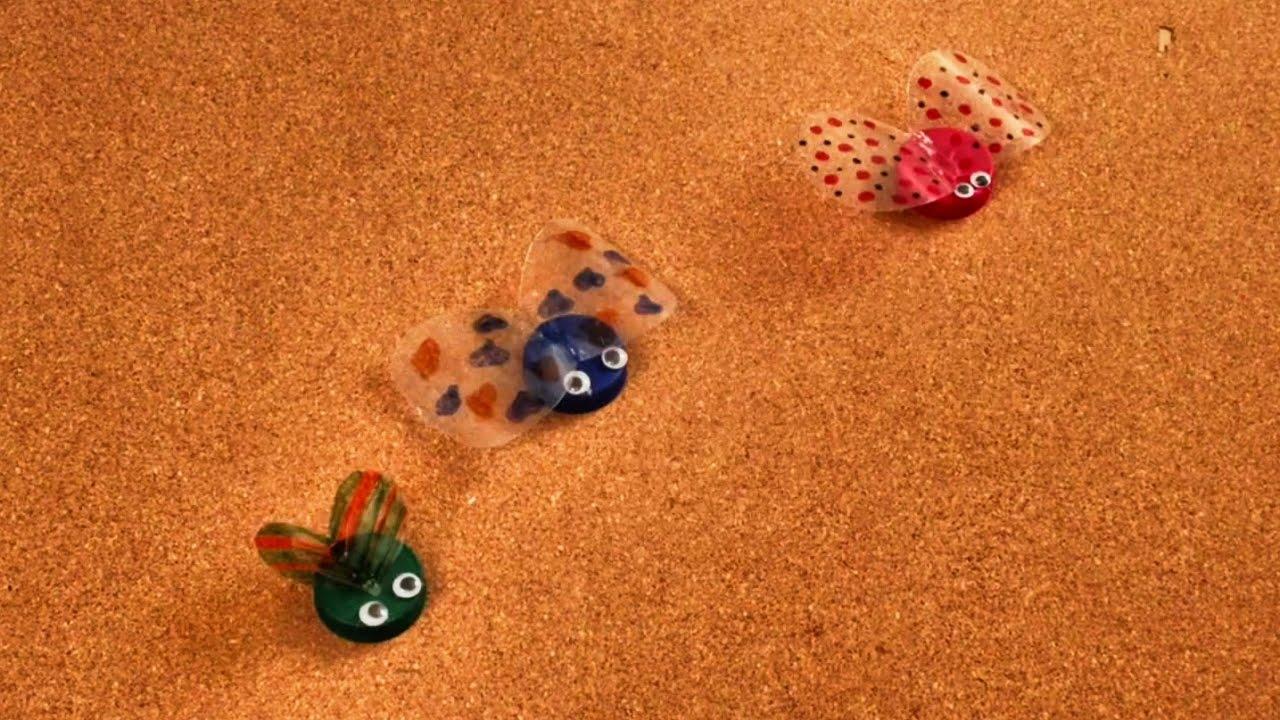 C mo hacer insectos con botellas de pl stico reciclado - Bichos en casa fotos ...