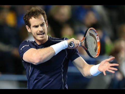 Highlights: Andy Murray (GBR) v Kei Nishikori (JPN)