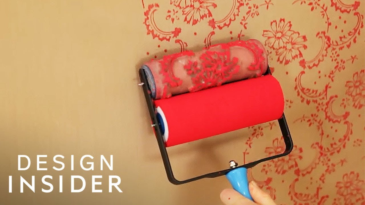 Roller Lets You Paint Your Walls With Beautiful Designs