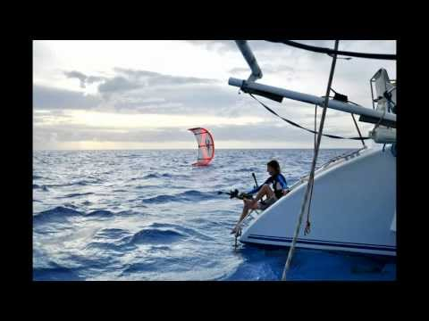 Offshore Kitesurfing Minerva Reef South Pacific