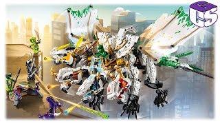 Lego Ninjago Ultra sárkány építés 🐲 (70679)