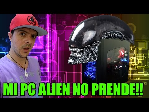 MI PC ALIEN NO PRENDEEEE!! D: | UNBOXING Y ARMADO | AsckoT's House
