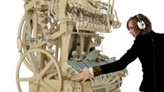 СУПЕР!!! Парень гений построил музыкальную машину по чертежам Леонардо да Винчи