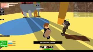Jogando roblox - Hunger game Ep 2!