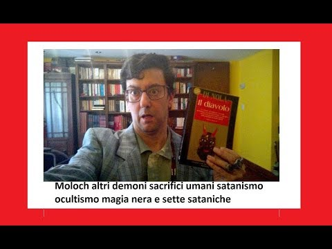 Moloch other demons human sacrifices satanism occultism black magic and satanic sects