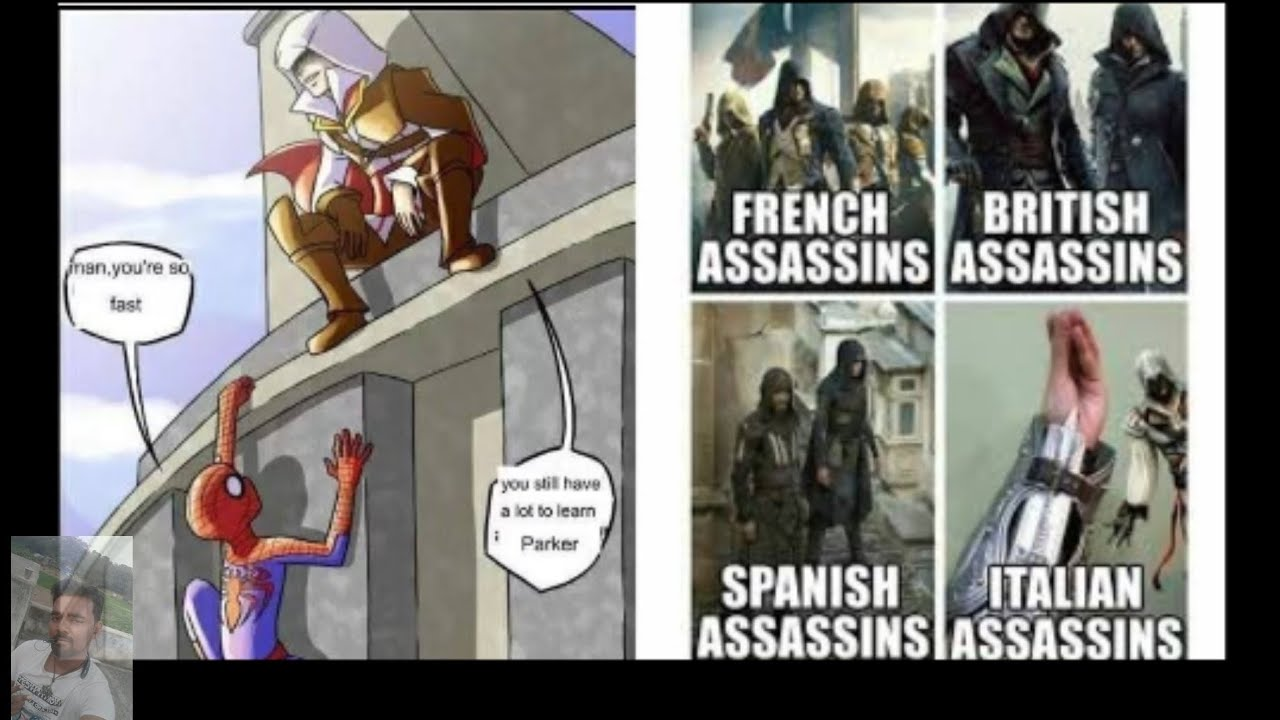 Download Only Assassin's creed fans will find it funny    Assassin Creed/Daily One Machi
