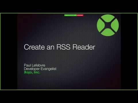 Creating an RSS Reader