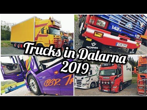 Trucks in Dalarna 2019, swedish showtrucks and oldtimers