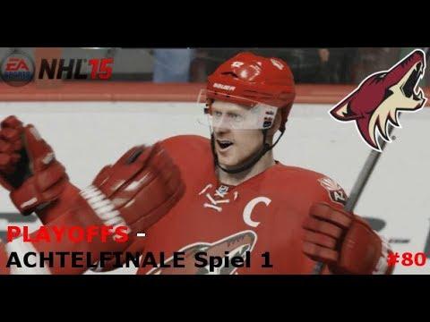 NHL 15 - PLAYOFFS #01: Achtelfinal-Gegner und Turnierbaum! vs...? | Part #80 [Let's Play] [GER]