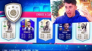 *FULL* ICON 195 RATED FUTDRAFT GLITCH!!! (FIFA 19)