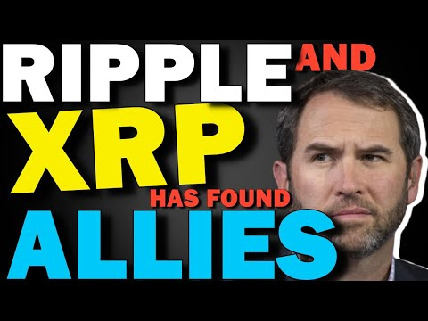 RIPPLE XRP NEWS TODAY \ XRP LAWSUIT! XRP HAS FOUND ITS ALLIES !!