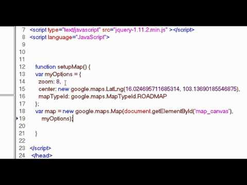 Google Map API ดึงค่าพิกัดจากฐานข้อมูลขึ้นมาแสดงบนแผนที่ PART 1 (แก้ไขเสียงเบา)