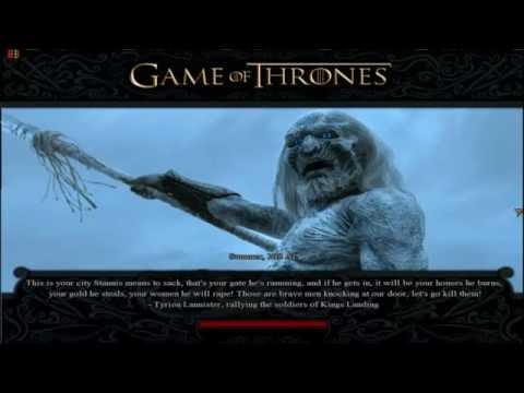 Game of Thrones Total War. (Mod de Medieval 2 Total War Kingdoms)