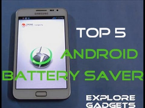 Top 5 Battery Saver Apps For Android - 2012