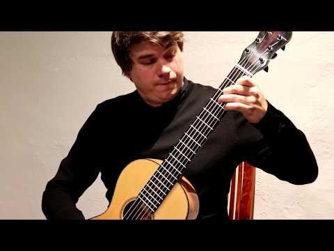 Patrik Kleemola plays Fernando Sor Etude 7 op. 60