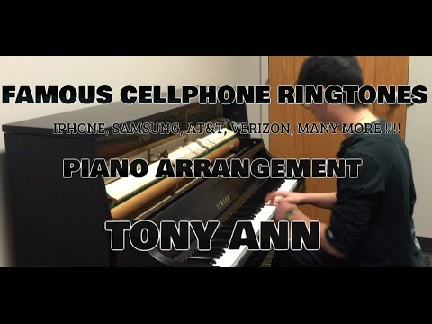 Famous Cellphone Ringtones Played On The Piano (Tony Ann Arrangement)