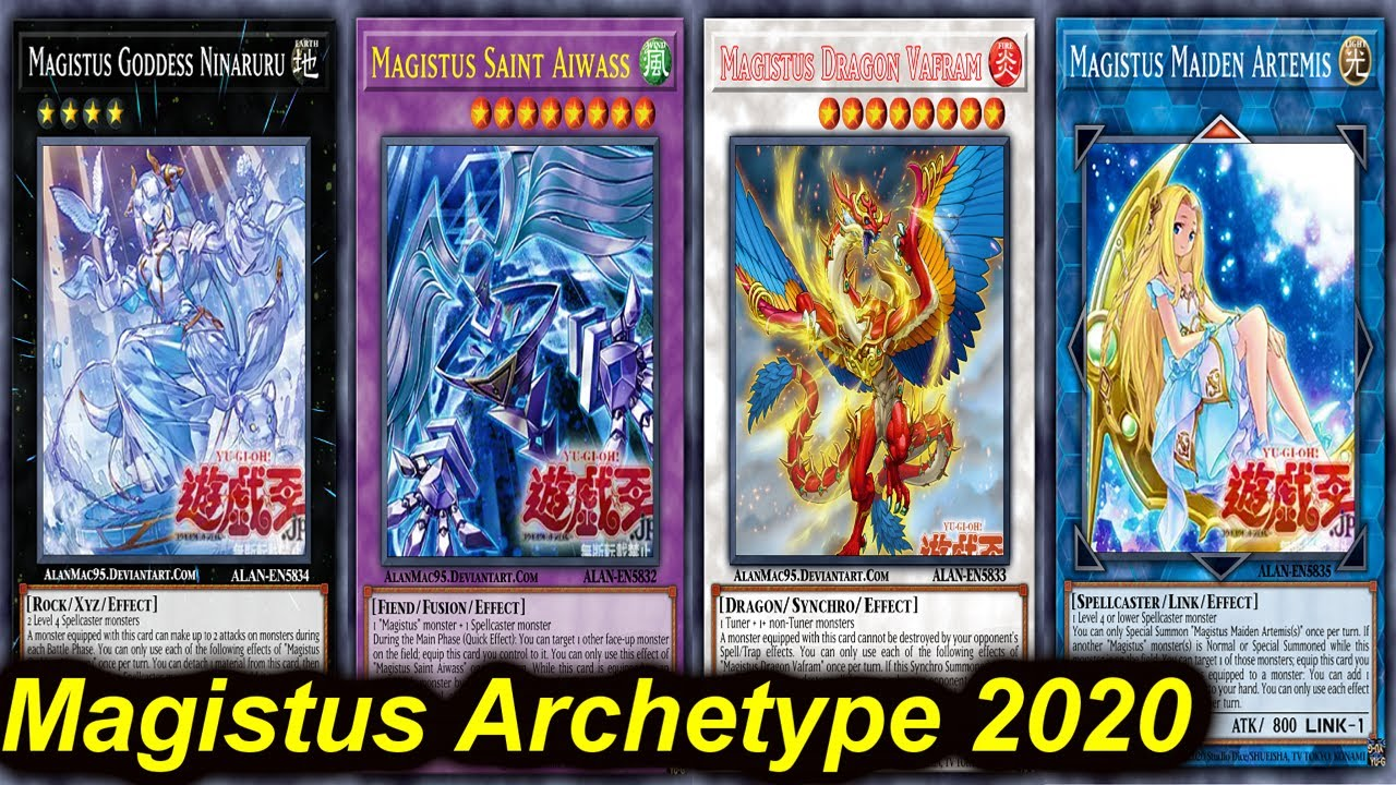 【YGOPRO】MAGISTUS NEW ARCHETYPE DECK 2020