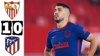 Севилья Атлетико Мадрид 1 0 Обзор Матча Чемпионата Испании 04 04 2021 HD