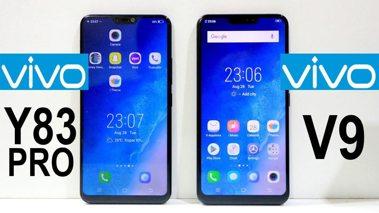 Vivo Y83 Pro Vs Vivo V9 Speed Test