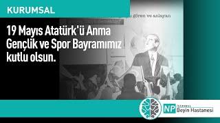 19Mayıs Atatürk'ü Anma Gençlik ve Spor Bayramımız kutlu olsun.