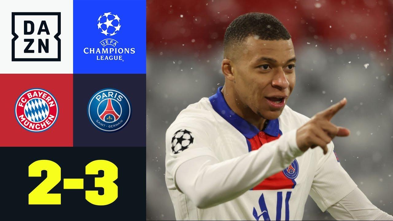 Download Mbappé eiskalt! Bayerns Aufholjagd reicht nicht: FC Bayern - PSG 2:3   UEFA Champions League   DAZN