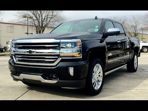 2016 Chevrolet Silverado High Country 6.2L V8 4WD Crew Full Review /Start Up /Exhaust /Short Drive