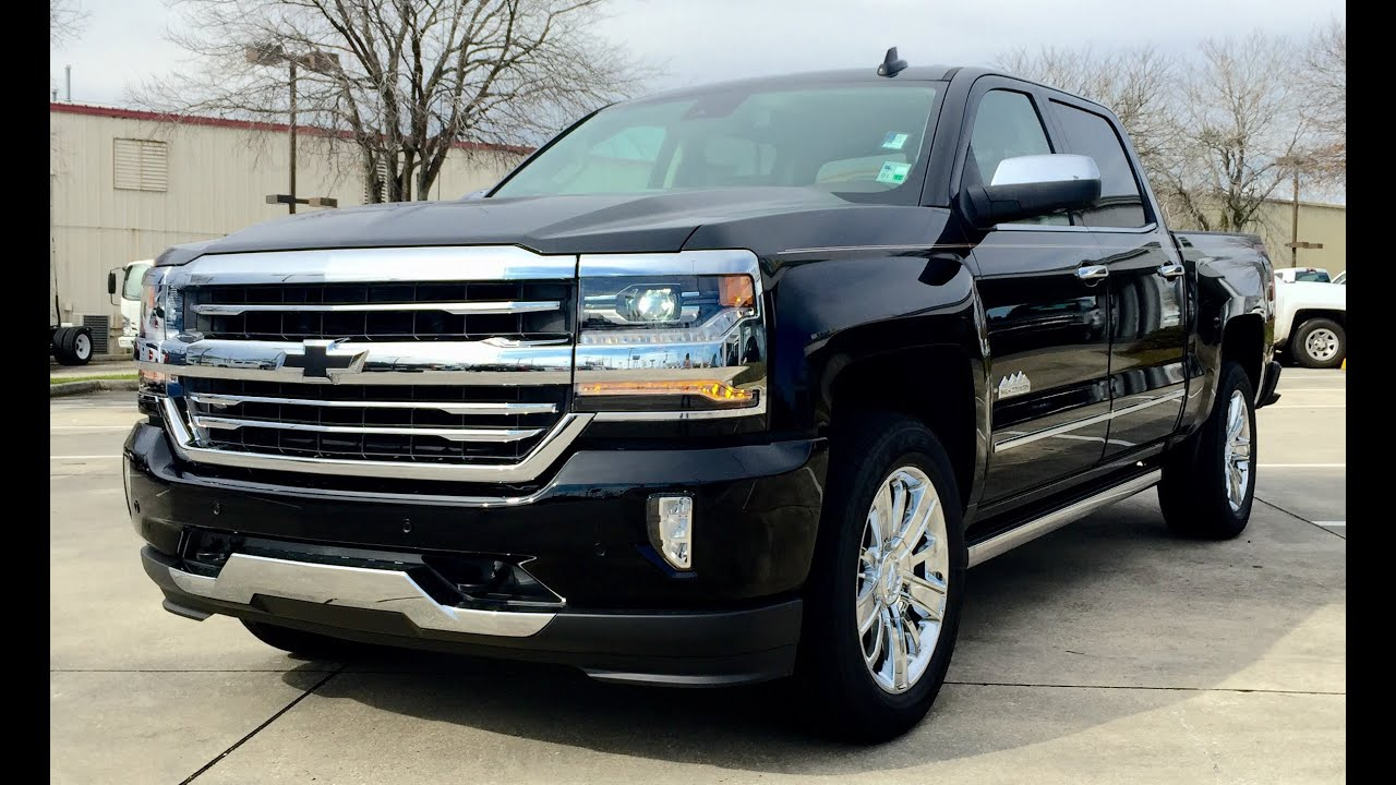 2016 chevrolet silverado high country 6 2l v8 4wd crew doovi. Black Bedroom Furniture Sets. Home Design Ideas