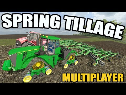 FARMING SIMULATOR 2017 | SPRING IS HERE- TIME TO START TILLAGE | CASE IH & JD 9RX | EP #36 thumbnail