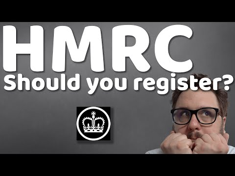 Should you be registered with HMRC? What, why and how to register as self employed!