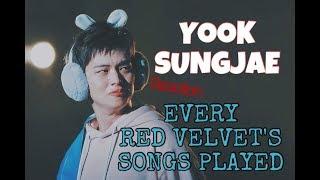 [BbyuCouple] Yook Sungjae Reaction Every Red Velvet's Songs Played