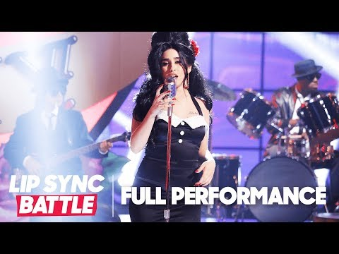 "Lauren Jauregui of Fifth Harmony Channels Amy Winehouse for ""Rehab"" 