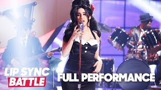 Lauren Jauregui of Fifth Harmony Channels Amy Winehouse for