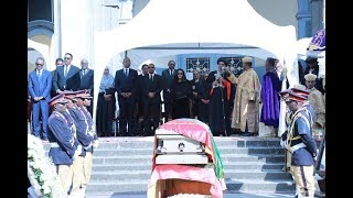 Kenya news today | Thousands Attend State Funeral of Former President Girma Woldegiorgis