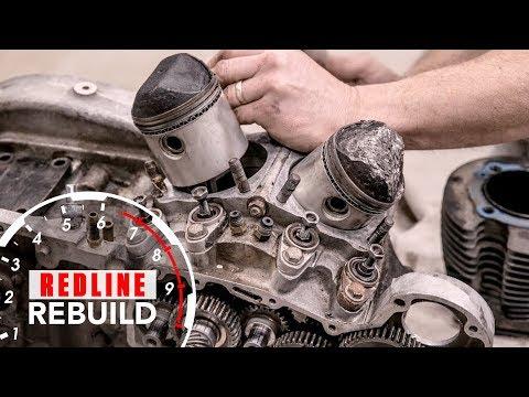Harley-Davidson Sportster V-Twin Ironhead Engine Rebuild Time-Lapse | Redline Rebuild #6