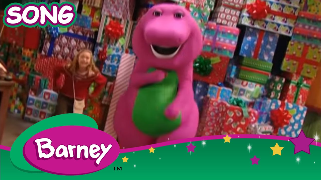 Barney - Santa\'s Wrapping Crew (SONG) - YouTube