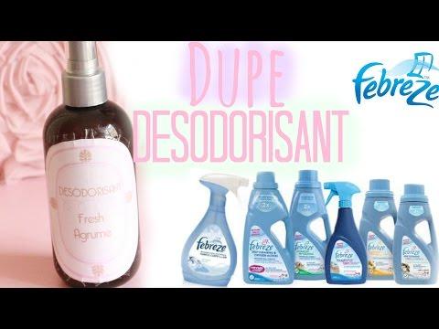 ✮ DIY ✮ DUPE Febreze ✮ Désodorisant pour la maison    Air Fresheners   Caly Beauty