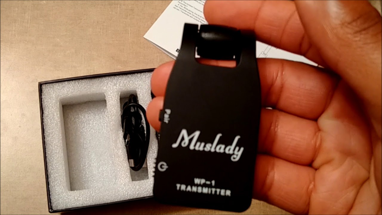 quick review of muslady wireless guitar system youtube. Black Bedroom Furniture Sets. Home Design Ideas