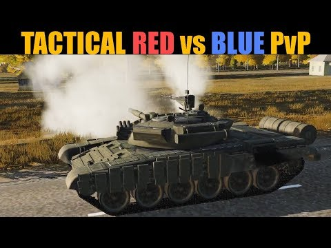 Tactical Red Vs Blue PvP | Air & Ground Battle | DCS WORLD