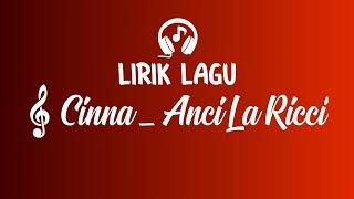 Download Lagu Lirik Lagu Cinna - Anci Laricci || Cover By Muhammad Alifi mp3