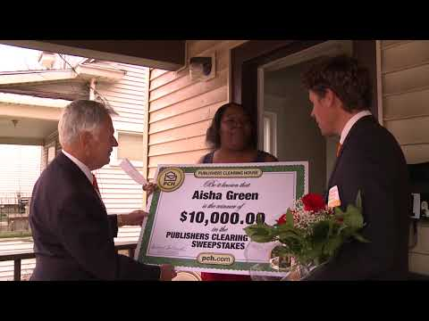 Repeat Publishers Clearing House Winners: Jackie Gilson From