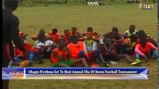 Obagie-N'evbosa set to host annual Oba of Benin Football Tournament