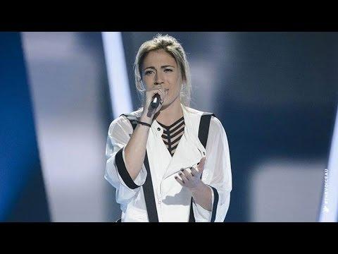 Carly Yelayotis Sings Stay | The Voice Australia 2014