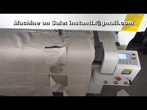 CO2 laser cutting macine for textile, China laser cutting machine,