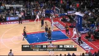 Cleveland Cavaliers vs Detroit Pistons   Game 3   Full Highlights   April 22, 2016 NBA Playoffs