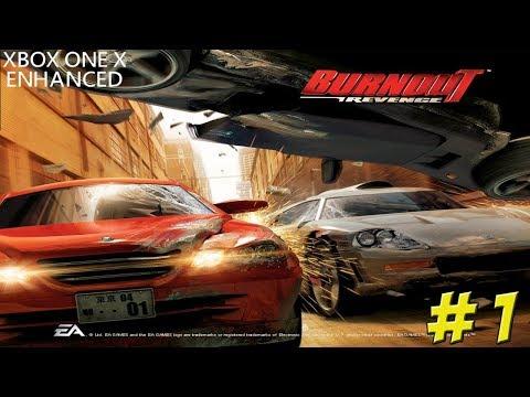 Burnout Revenge! Xbox One X Enhanced! Part 1 - YoVideogames
