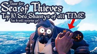 Sea of Thieves | Top 10 Sea Shantys of all TIME | Animated Song | Mr Weebl