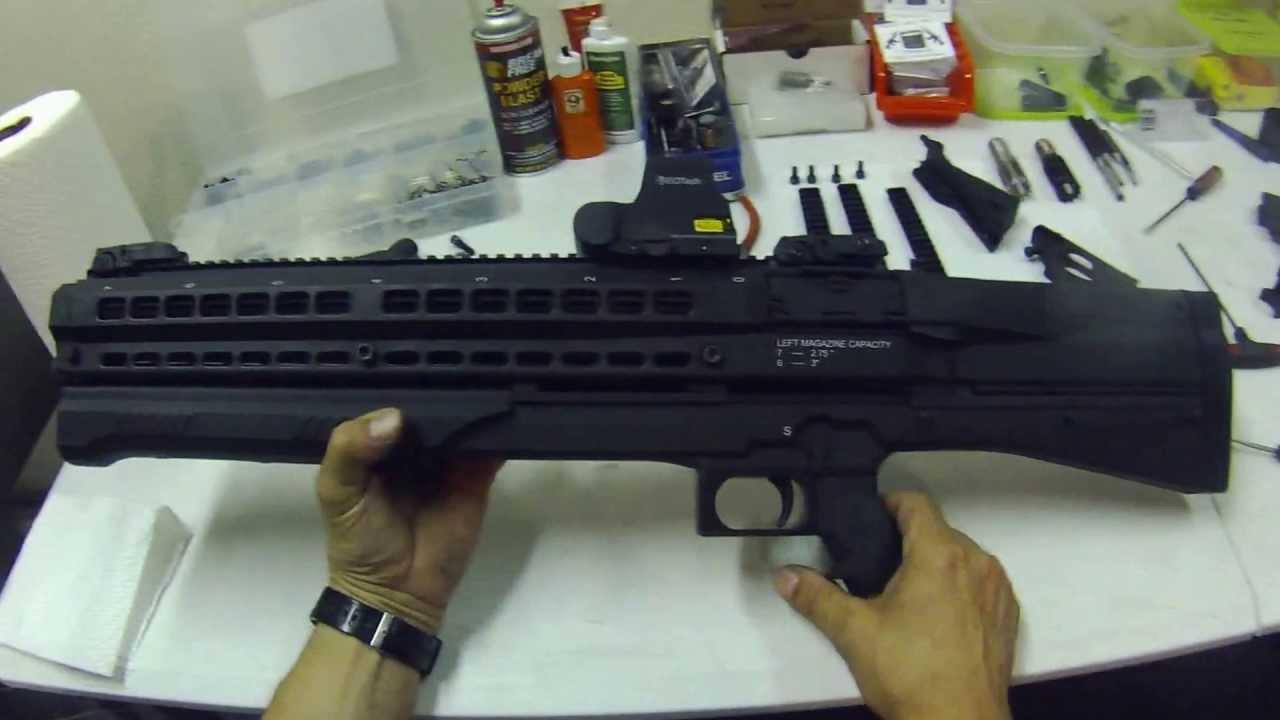 UTS 15 Tactical Shotgun, How to upgrades